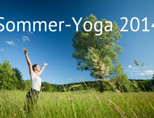 Sommer Yoga 2015